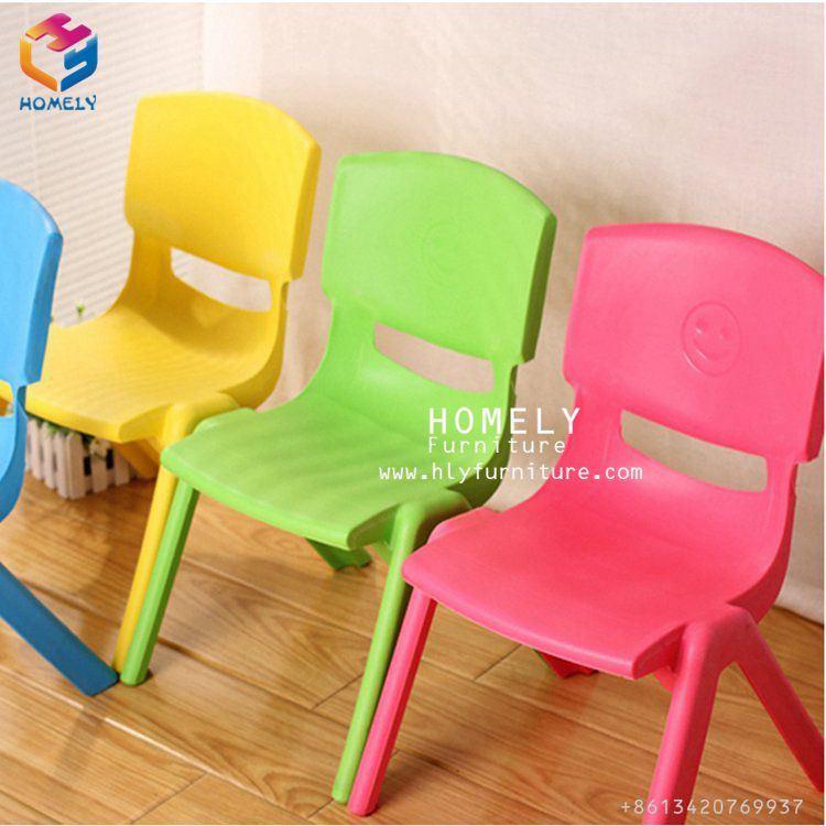 Foto de Los niños modernos rojo mesa y silla de plástico para el ...