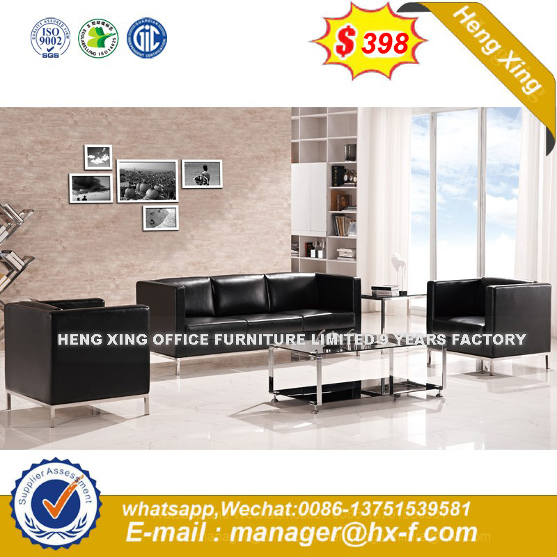 Form Mobel Schwarz Leder Verein Buro Sofa Sets Hx 8n0803 Foto Auf