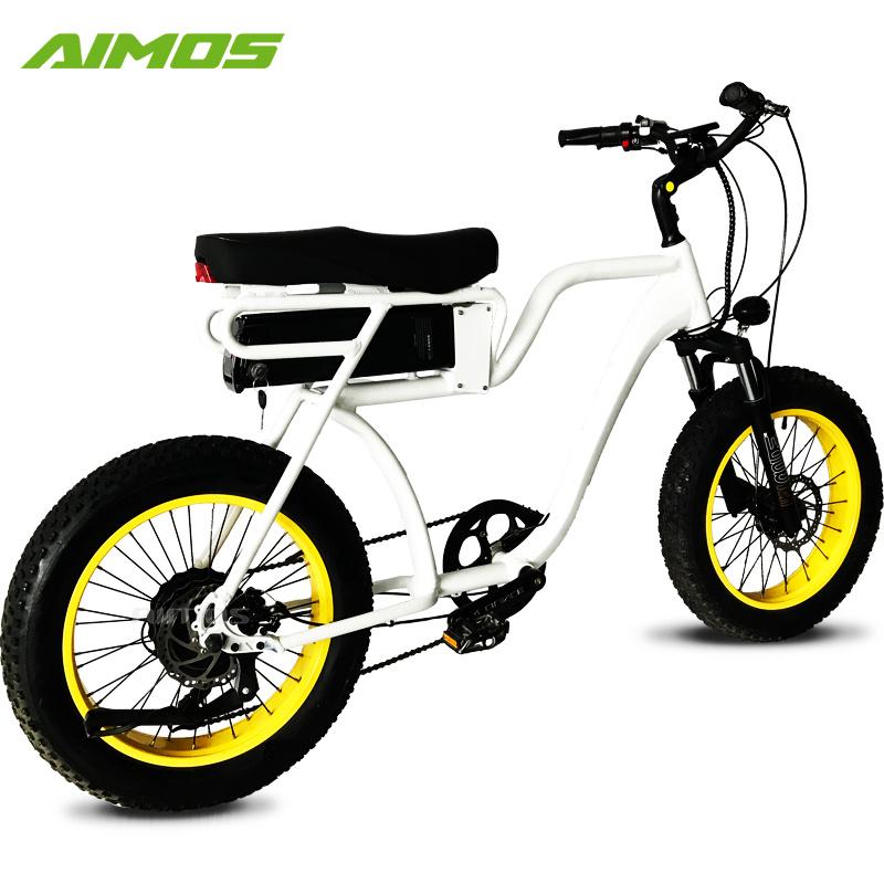 Bici Elettrica Della Gomma Grassa Americana Del Modello A Caldo Con
