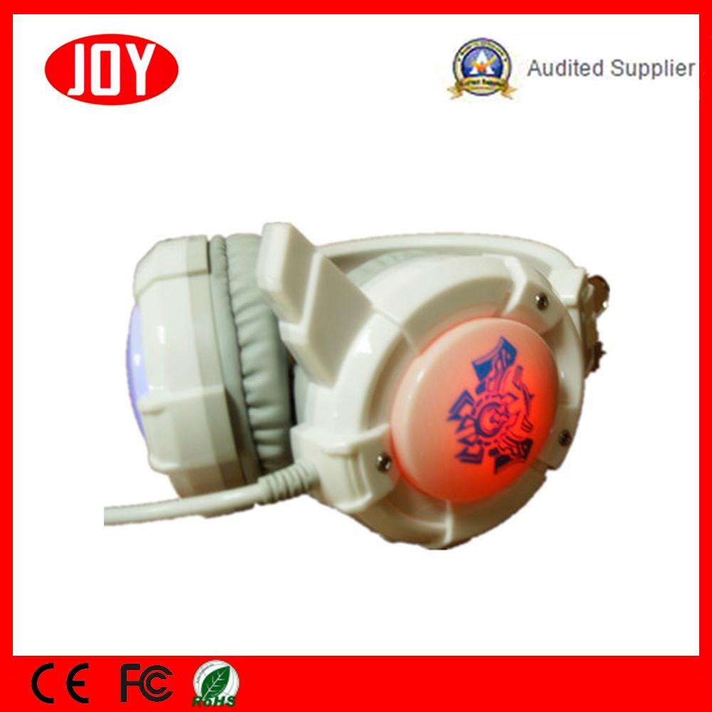 Juegos de auriculares de 3,5 mm LED Micrófono Surround estéreo auriculares