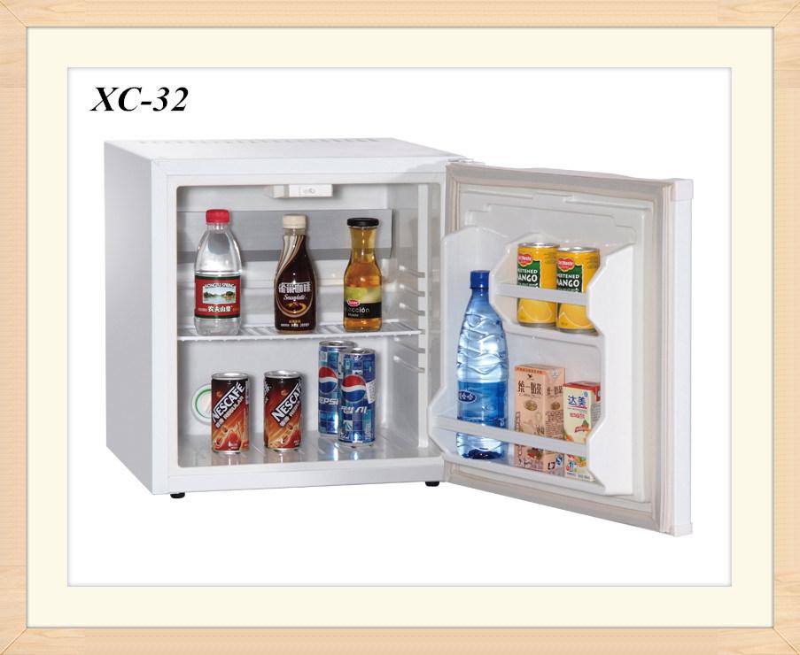 ホワイト発泡ドアホテルの冷蔵庫キャビネット電気アイスボックスクーラー