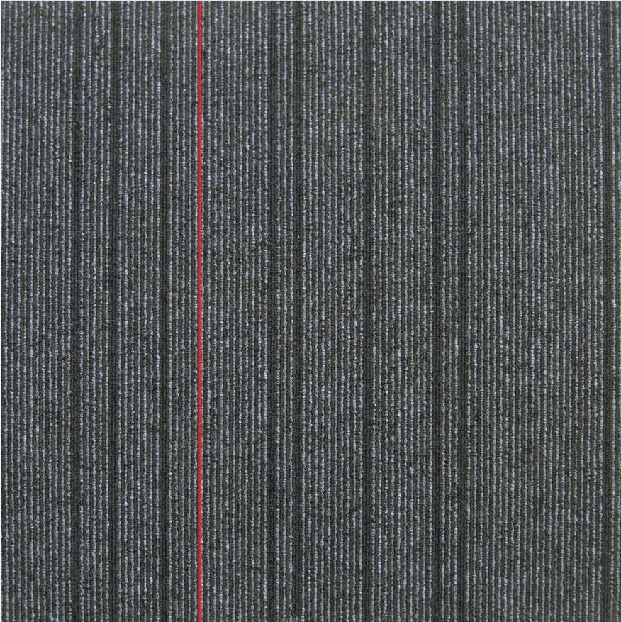 高いトラフィックのナイロンカーペット50*50のジャカードオフィスの床の瀝青の裏付けのカーペットのタイル