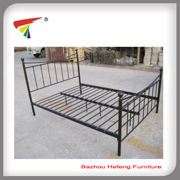 Metal muebles Cama doble Cama Queen size Bastidor (IC062) – Metal ...