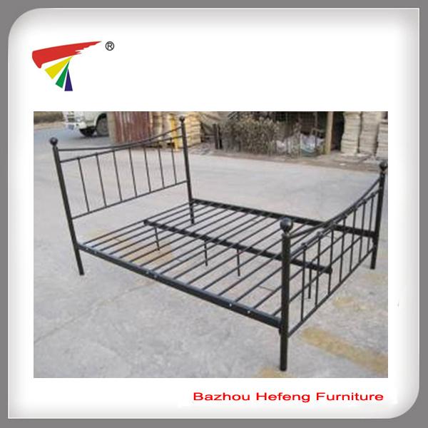 Foto de Metal muebles Cama doble Cama Queen size Bastidor (IC062) en ...