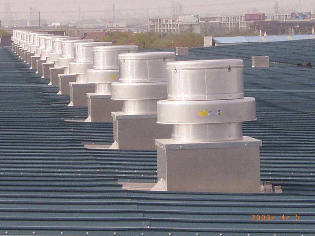 China En La Azotea Alluminum Ventilador Centr 237 Fugo Rtc