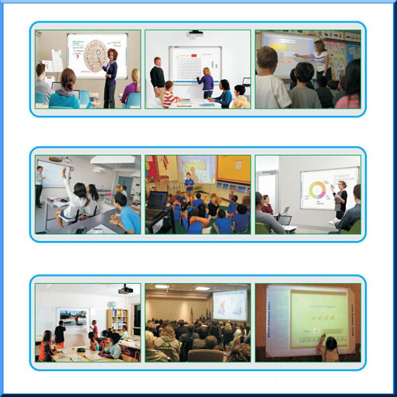 10 punti di tocco Whiteboard interattivo per formazione e la riunione