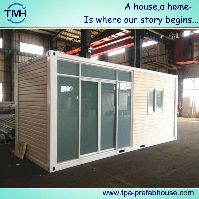 Het Prefab Huis Van De Container Van De Module Met Het Frame Van Het