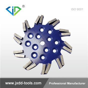 Los segmentos de la barra de herramientas de molienda de las ruedas de diamante