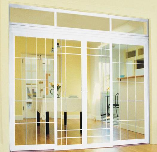 UPVCのビニールの窓(PVC02)
