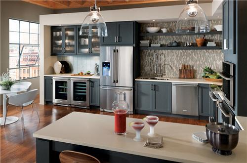 Hervorragend Amerikanischen Shaker Style Moderne Grau Küche