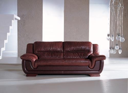 Genuine Leather Sofa (635#)