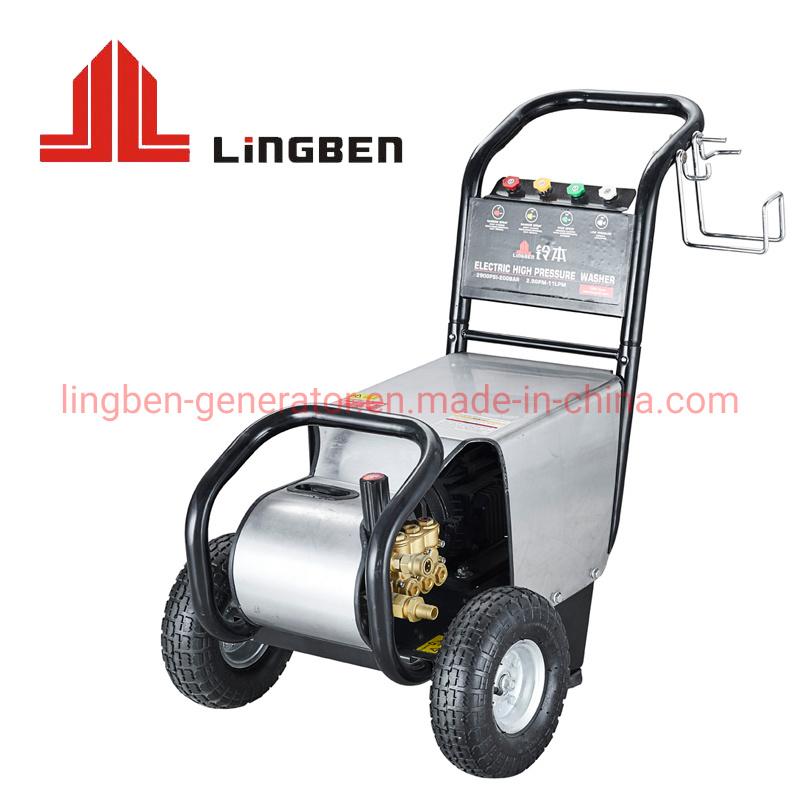 120 2,2 kw bar 1740psi Electric Lavadora de Alta Pressão