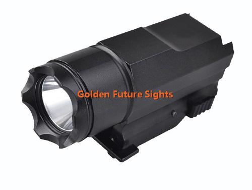 Pistola de LED linterna táctica con liberación rápida de 300 lúmenes