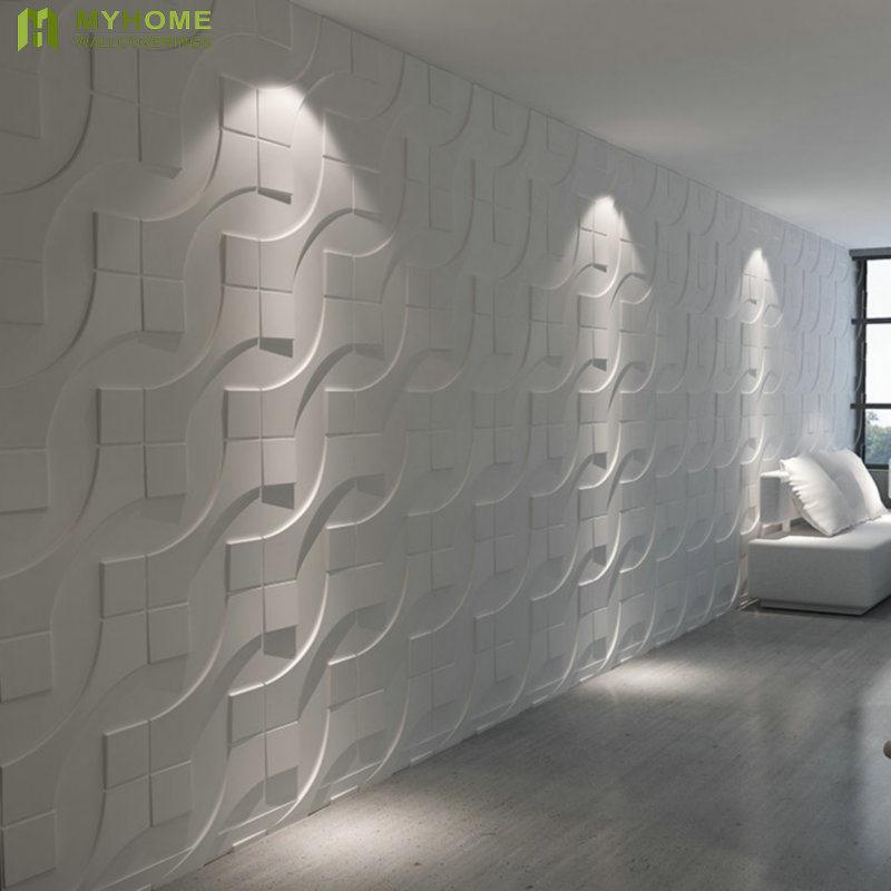 Décoration Maison Pvc étanche Panneau Mural 3d Pour Salle De Bains