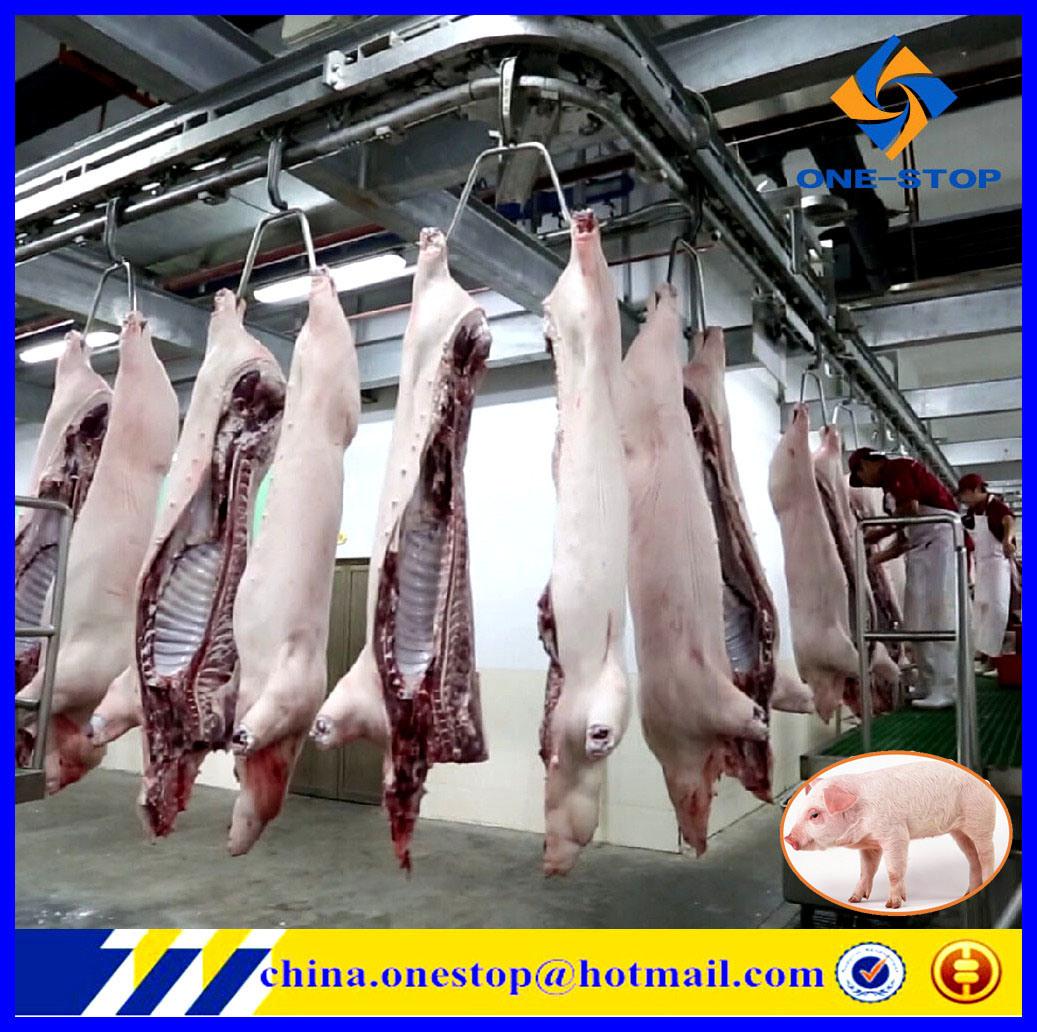 Maiale Slaughter Plant Slaughterhouse per Bovine Abattoir Machinery Equipment Line Farming Turnkey