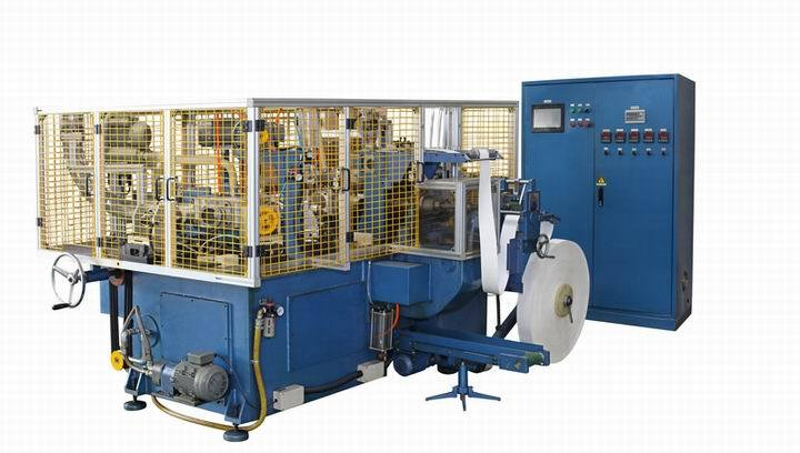 Vaso de papel de alta velocidad de la máquina (SCM-H)