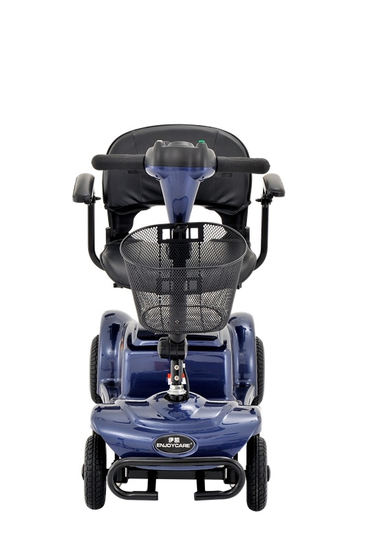 quatre roues mini scooter lectrique pliable avec panier. Black Bedroom Furniture Sets. Home Design Ideas