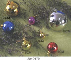Рождество подвесными Ornaments-Balls 4 (204D179)