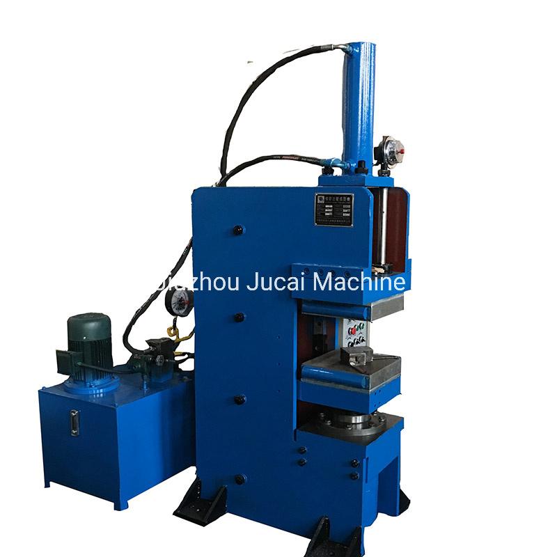 آلة ريفيسكنغ من نوع الفك المخصصة للأشرطة المطاطية/آلة الفلكانتينغ ذات شريط مطاطي