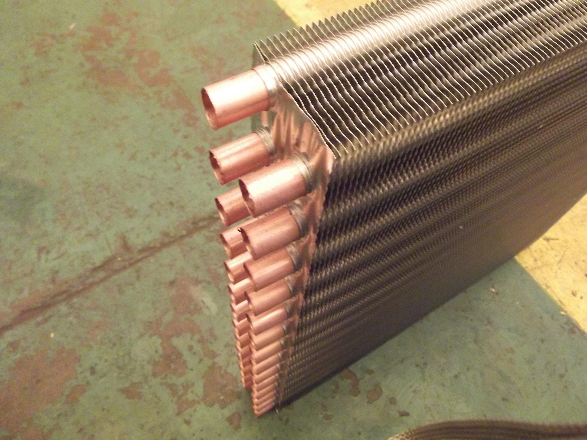 Serpentina di raffreddamento dello scambiatore di calore for Scambiatore d aria