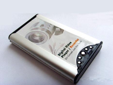 2.5 Zoll HDD bewegliches Media Player mit bis zu Hochgeschwindigkeits480Mbps übertragungsrate, Unterstützungen 160GB IDE (DY302)