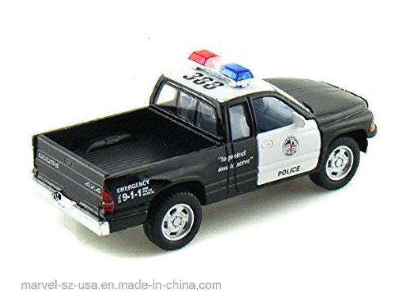Camioneta De Regalo Blanconegro Coche La Policía Foto Juguete J1clKF