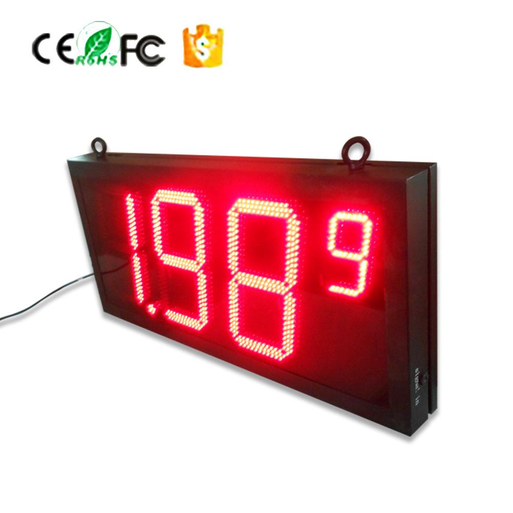操作容易に、高いコストパフォーマンス、20インチの給油所の価格LEDデジタルの印か表示またはPanle