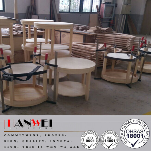Foto de Ronda Moderno marco de madera Chapa de madera muebles de ...