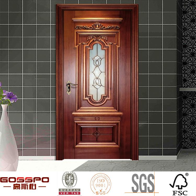 Foto de cocina interior de talla de madera de la puerta de for Puertas madera y cristal interior