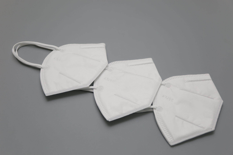 5 Padrões de camada de tecido Non-Woven protecção antivírus, Anti-Dust descartáveis para adultos de Máscara