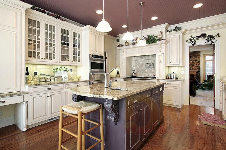 Foto de Los armarios de roble natural pintura blanca Muebles de ...