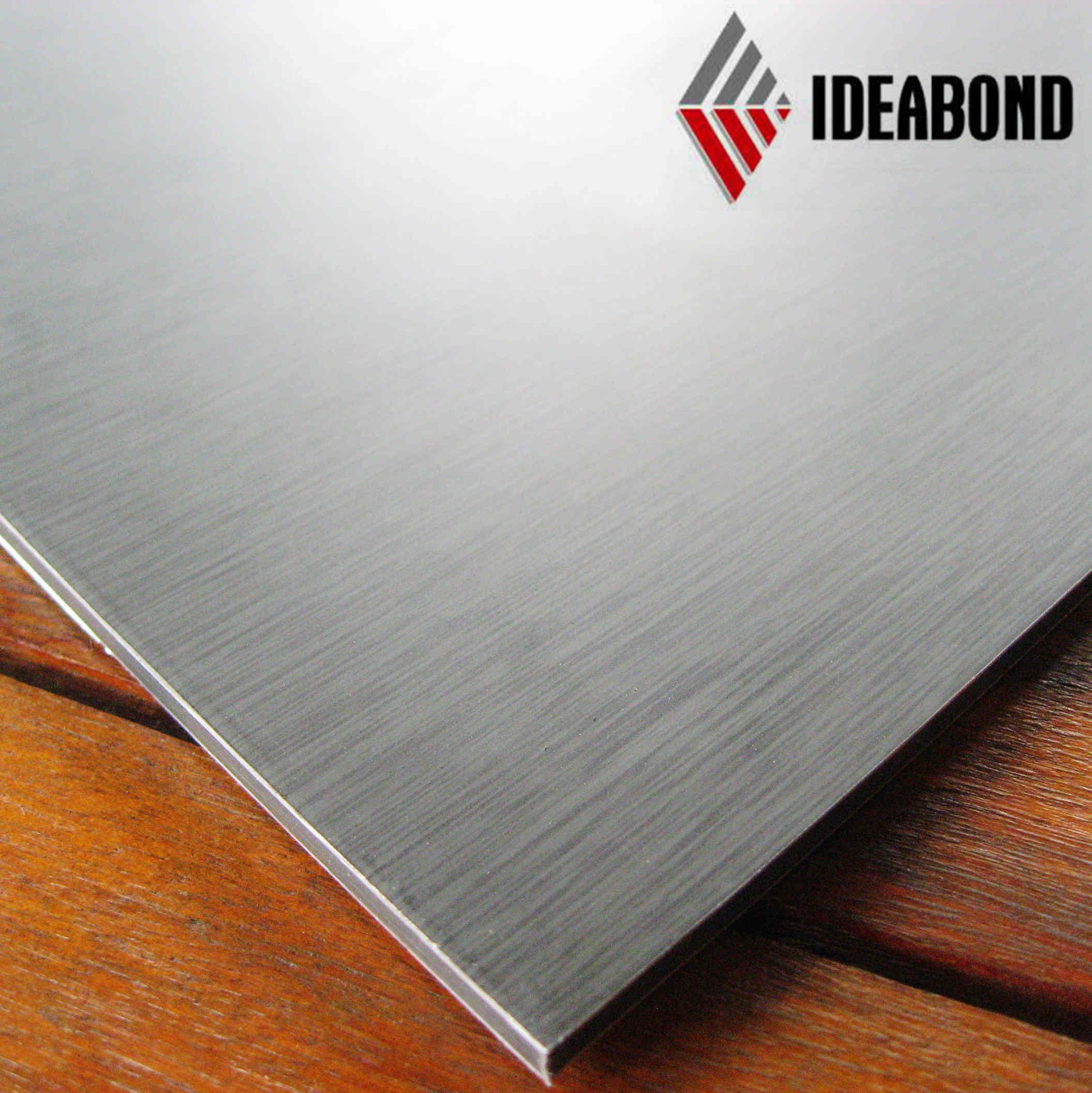 panneau composite en aluminium bross ideabond s rie acm photo sur fr made in. Black Bedroom Furniture Sets. Home Design Ideas