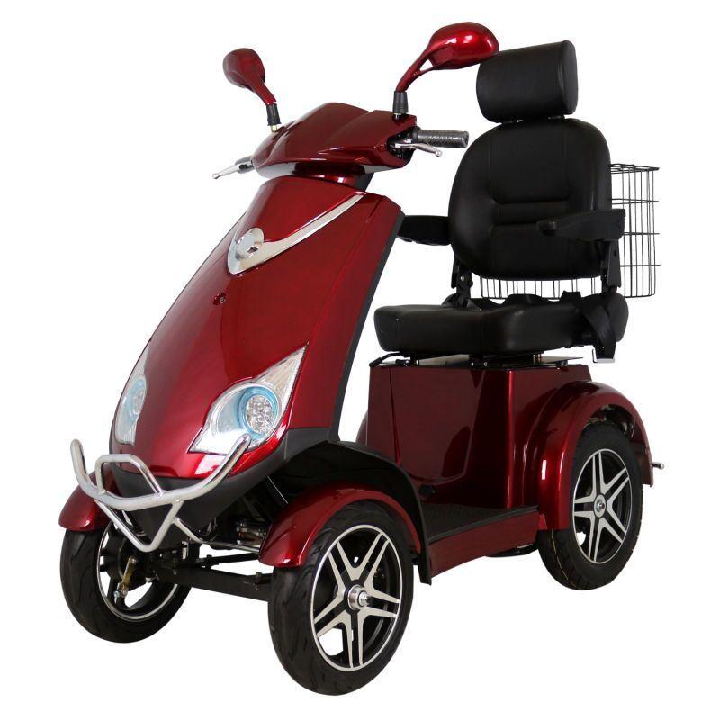 Bici Elettrica A Quattro Ruote Per I Handicappati Più Anziani E Foto