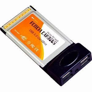 USB 2.0 Cardbus PCMCIA 4 Port (PCMCIA-608)