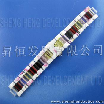 Glasuhrenarmband-Verbindungen