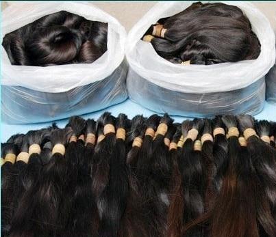 Cheveux humains naturelles