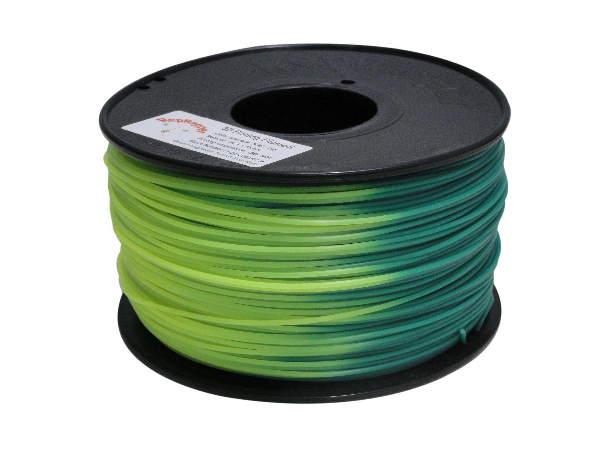 Cambio de color PLA 1,75mm de filamentos de impresión 3D para la impresora