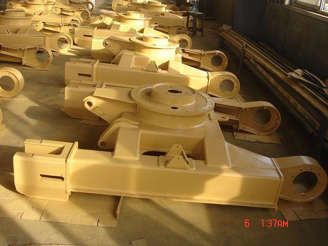 Bâti de chenille, châssis de la pelle (DRH-T-001)