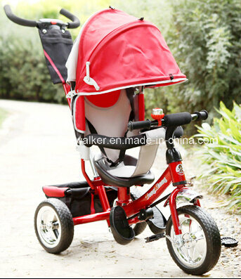 De nieuwe Driewieler van de Baby van de Veiligheid van de Zetel van de Manier Regelbare