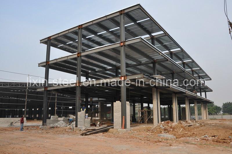 Foto de Estructura de acero Multi-Floors edificio de oficinas en es ...