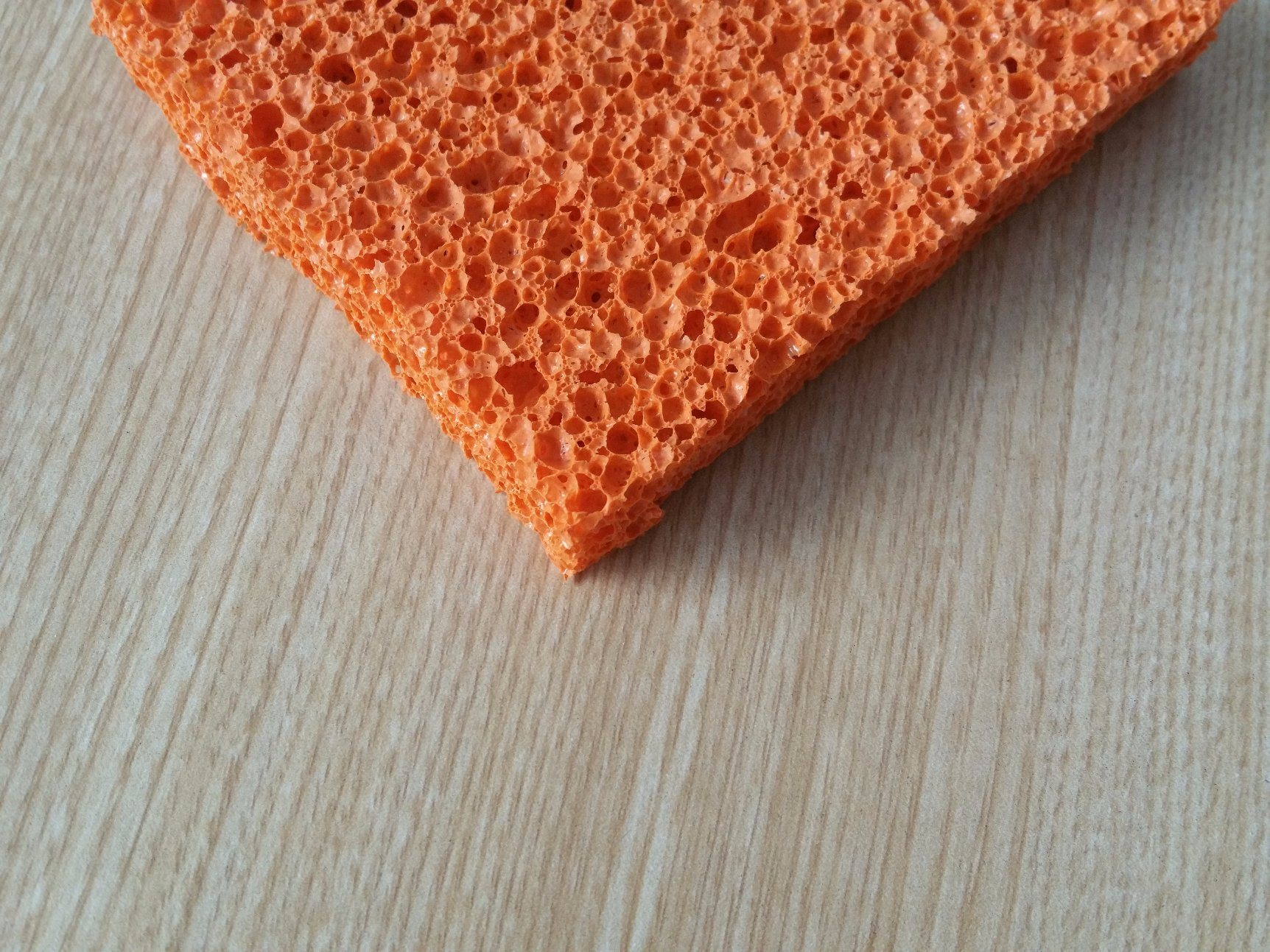 Foto de Esponja de silicona de color rojo y azul hoja de caucho de ...