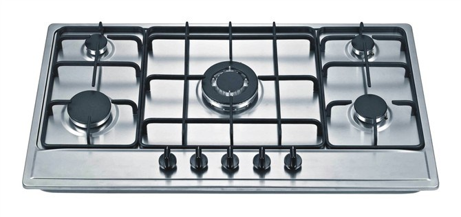 Form Iron Support Built in Gas Stove