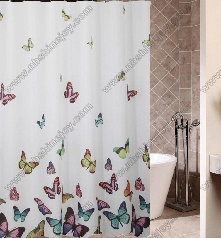 Polyester, PEVA, EVA, PVC Duschvorhang, Bad Trennvorhang, Badezimmer