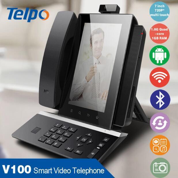 Telpo 이동할 수 있는 VoIP SIP 전화