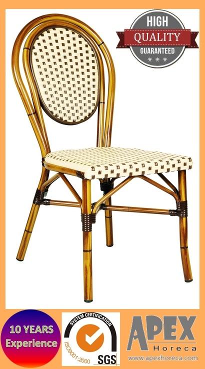 Président de Paris de mobilier de jardin Chaise en rotin look bambou ...