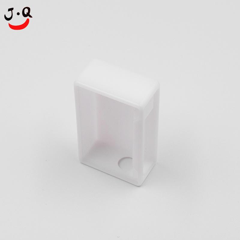 Witte en zwarte CNC Costomised POM kunststof koffer voor prototype