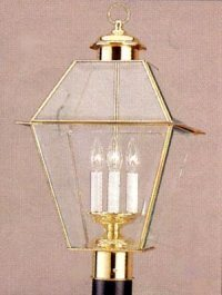 После верхней части светильника (41243)