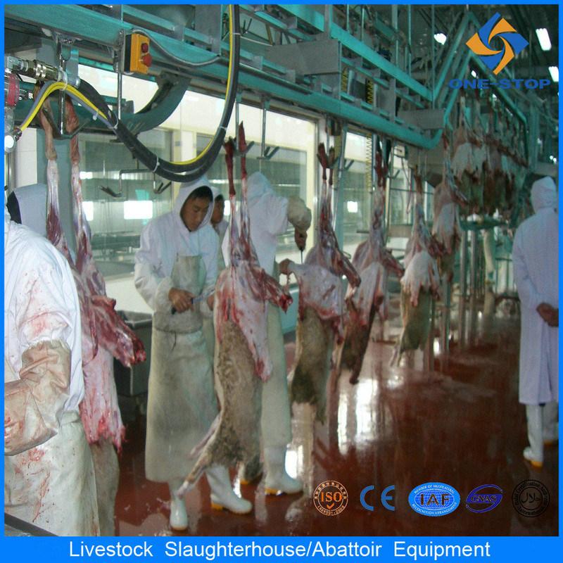 Strumentazione musulmana di macello delle pecore di lavorazione della macchina di Slaughteing