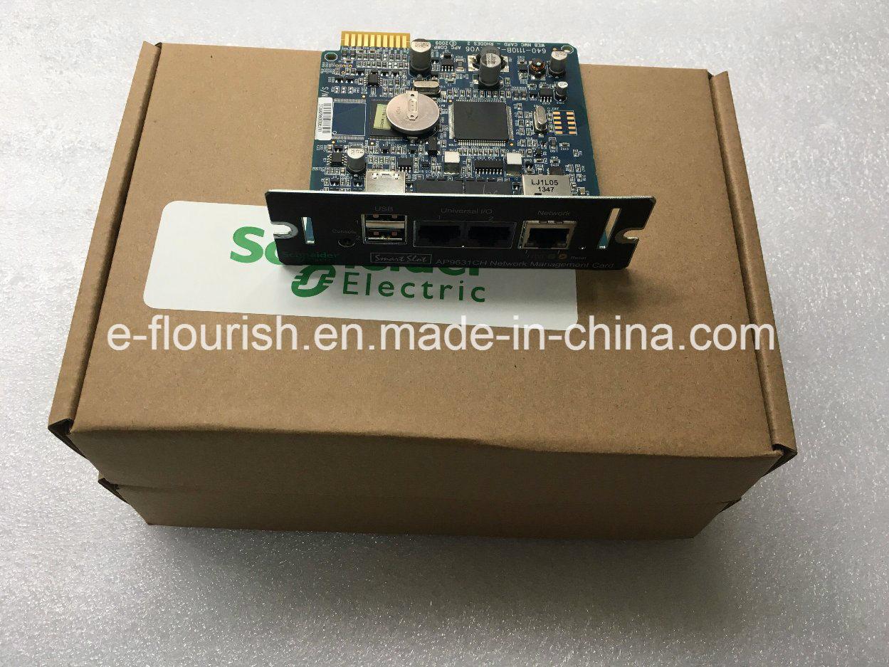 APC 지능적인 UPS를 위한 지능적인 슬롯 Ap9631 네트워크 관리 카드 2