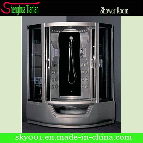Luxueus de Glas Geautomatiseerde Zaal van de Douche van de Stoom van de Sauna van het Bad (tl-8829)